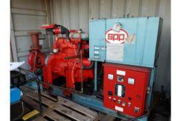 John Deere 4045 Diesel Fire Pump, Ex Standby