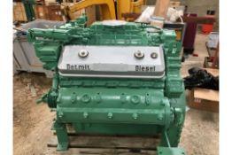 GM Detroit 8V71 Marine Diesel Engine Ex Standby