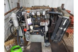 Lombardini LDW2204T Diesel Power Pack. Ex Standby
