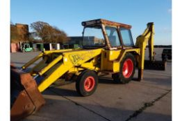 JCB MKII Backhoe Loader. No VAT