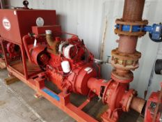 Iveco 8041T Diesel Fire Pump, Ex Standby
