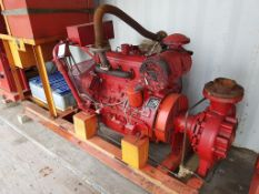 Iveco 8041 Diesel Fire Pump, Ex Standby