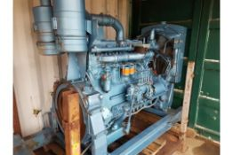 Rolls Royce C6 Diesel Power pack Ex Standby