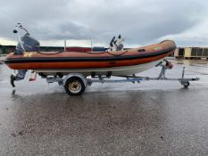 Humber 5.4M Rib with Trailer