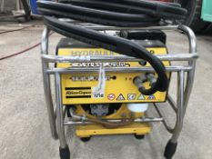Honda/Atlas Copco Petrol Hydraulic Power Pack. New