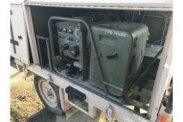 Trailer Mounted Diesel Generators 2x Hatz 1B 2.5Kva Ex Standby