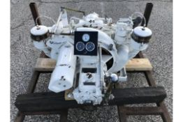 ENFIELD HO2 MARINE DIESEL ENGINE AND GEARBOX Unused