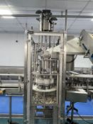 Rotary Six Head Can Filler with 6 Filling Heads and 6 Tamping Heads