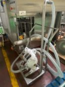 """Diaphragm Pump (used for Coconut Oil) with 3"""" infeed and Outfeed"""