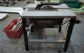 Metabo TKHS 315m table saw