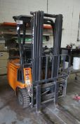 Sthil R50-15 electric fork truck with charger. 936