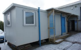 Britcab site office cabin 8.0m x 2.6m with kitchen