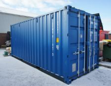 20ft metal storage / shipping container, one trip,