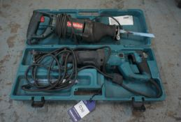 Metabo reciprocating saw PSE1200 and Makita JR3050