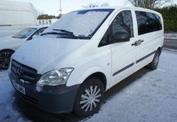 Mercedes Vito 113 CDI LWB Van, Registration RJ14 J