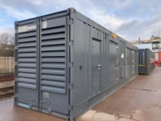 Unused 40FT Acoustic Silenced Generator Container