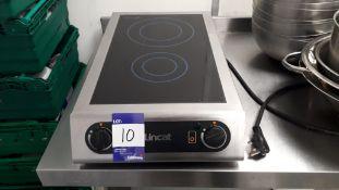 Lincat IH21 Electric Countertop Twin Zone Inductio