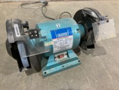 Draper Twin Wheel Bench Grinder