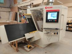 SCM Cyflex F900 Pro BR CNC Drill and Router