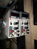2x Electronic loads Kikusui PLZ72W