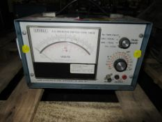 1x Levell Microvoltmeter TM3B