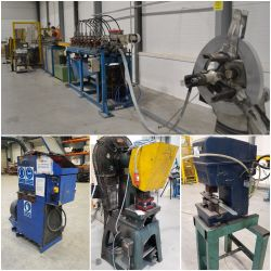 Arletti Roll Forming Line and Surplus Metalworking & Plastics Equipment