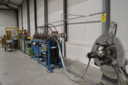 Arletti Roll Forming Line for Greenhouse Framing