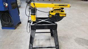 Dewalt DW721 Radial Arm Saw