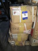 8 Boxes of Various Malleable Black Iron Fitting (Black) Socket, Elbow, Nipple, Plug (Approx. 1500