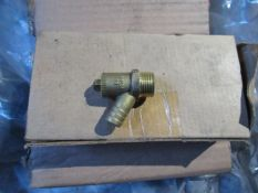 Approx. Quantity 300 15mm Brass Drain Off Valves