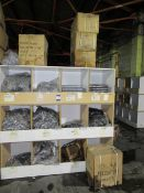 Contents to Wood Storage System to include Various Plastic Push fit/Plumbing Fittings including