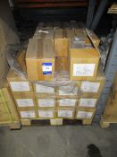 Approx. 44 Boxes x Qty 20 Straight Chrome Thermostatic Radiator Valves (Approx. 880 (TRV) Valves)