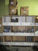 Contents to Wood Storage Unit to include Various Plastic Fittings i.e. Branch Tees, Bends, 4inch