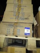 Approx. 8 Boxes x QTY 50 225PC 'O' Ring Sets (Approx. 400 O Ring Sets)