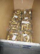 Approx. Quantity 200 22mm Brass Gas Valves