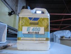 8 x 1 Litre Potterton E400 Central Heating Restorer 7 x 1 Litre Potterton Central Heating Noise