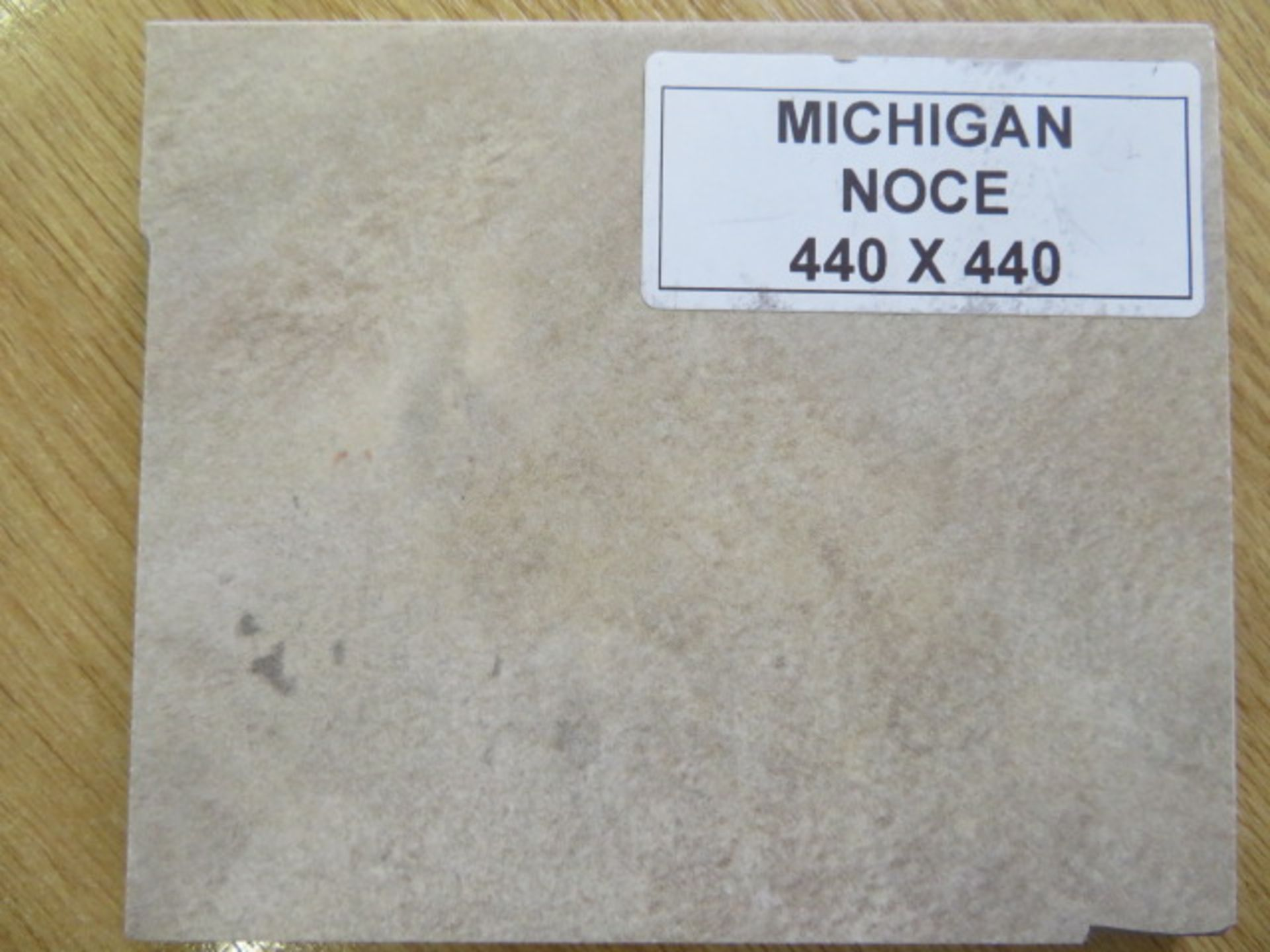 New 6 Square Meters Of Michigan Noce Matte Wall And Floor Tiles. 440X440Mm Per Tile, 8Mm Thick. - Image 3 of 3