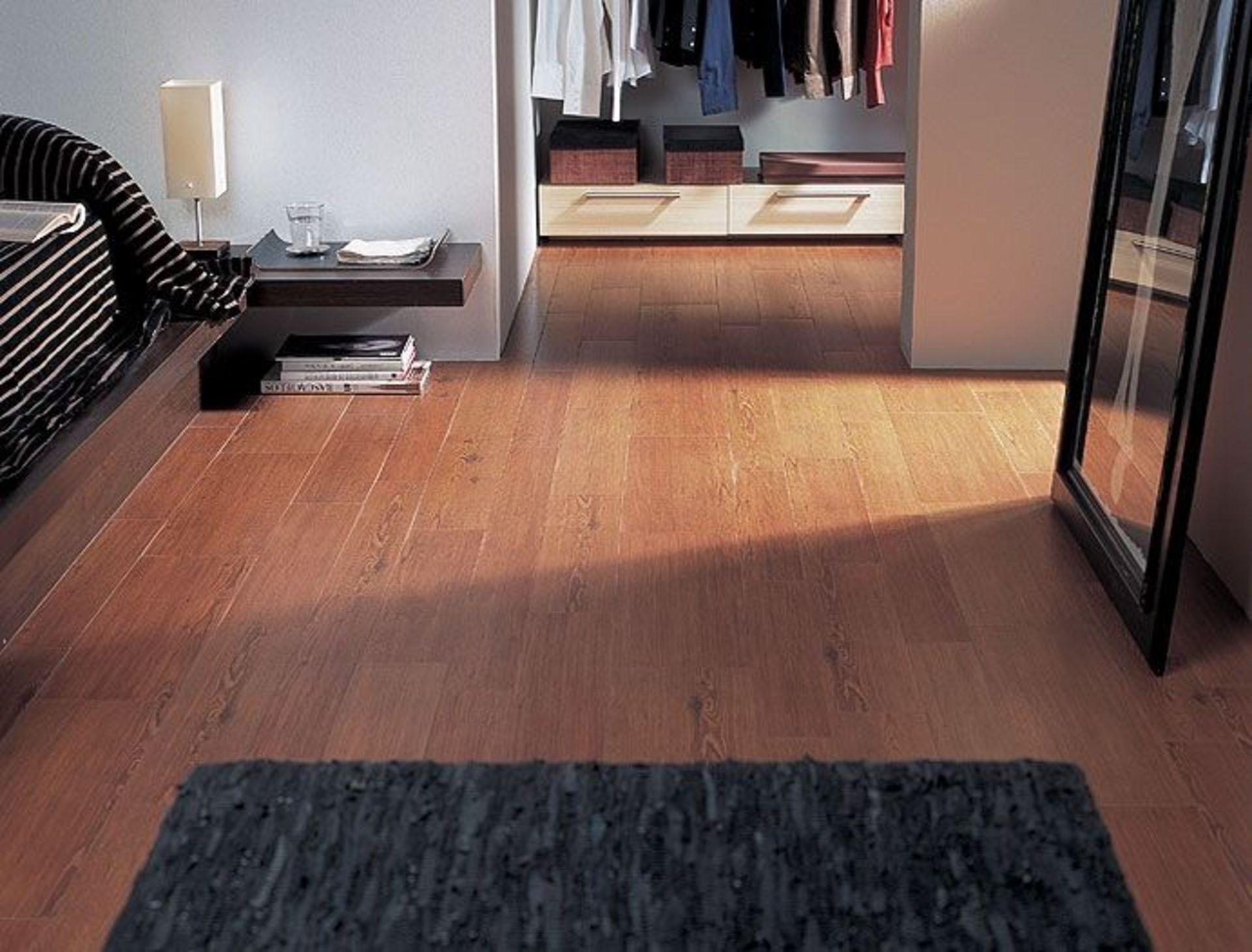 New 10.5M2 Porcelanosa Block Frassino Floor Tiles. 14.5x66Cm Per Tile, 1.05M2 Per Pack. With A