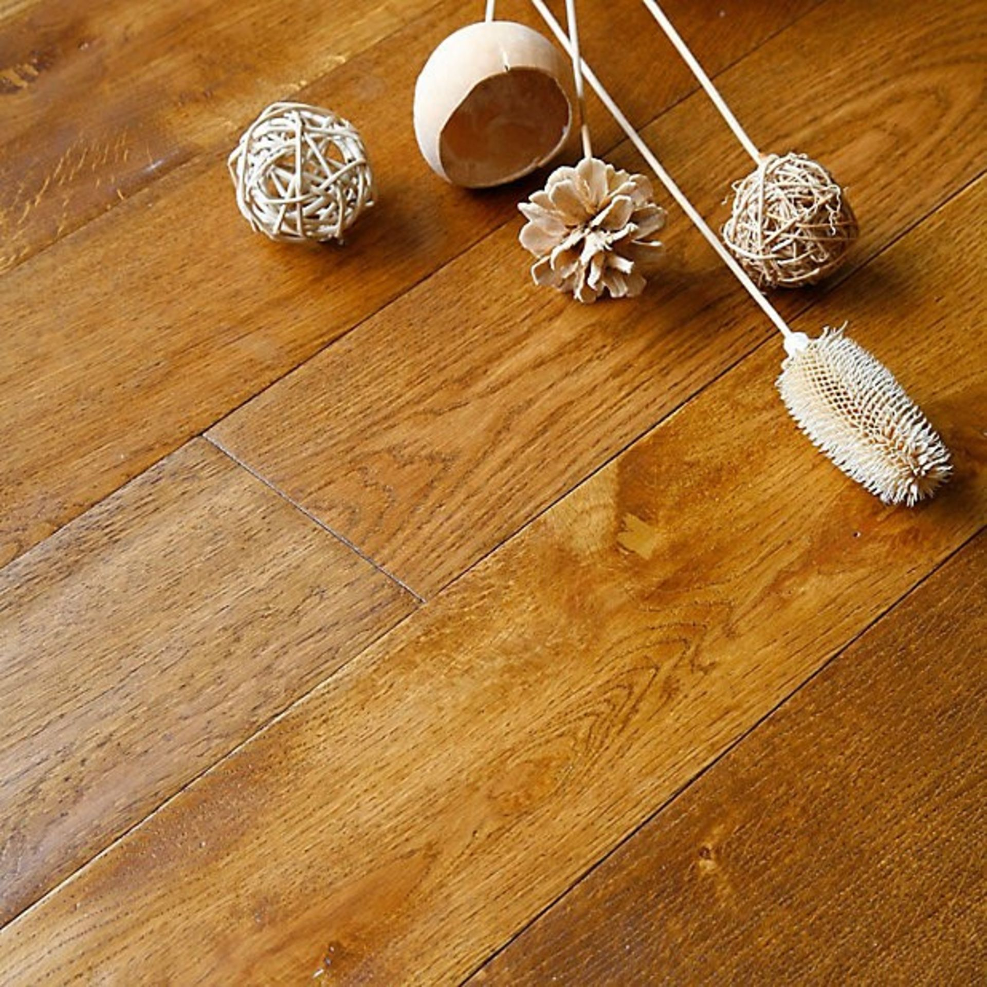 NEW 8.96M2 Ronda Solid Oak Flooring Wheat. 18mm thickness, 123x1200mm. The irresistible natural