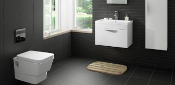 NEW 30.24M2 Pescaro Black Matt Plain Ceramic Wall & floor tile. 30x30cm per tile. Slip