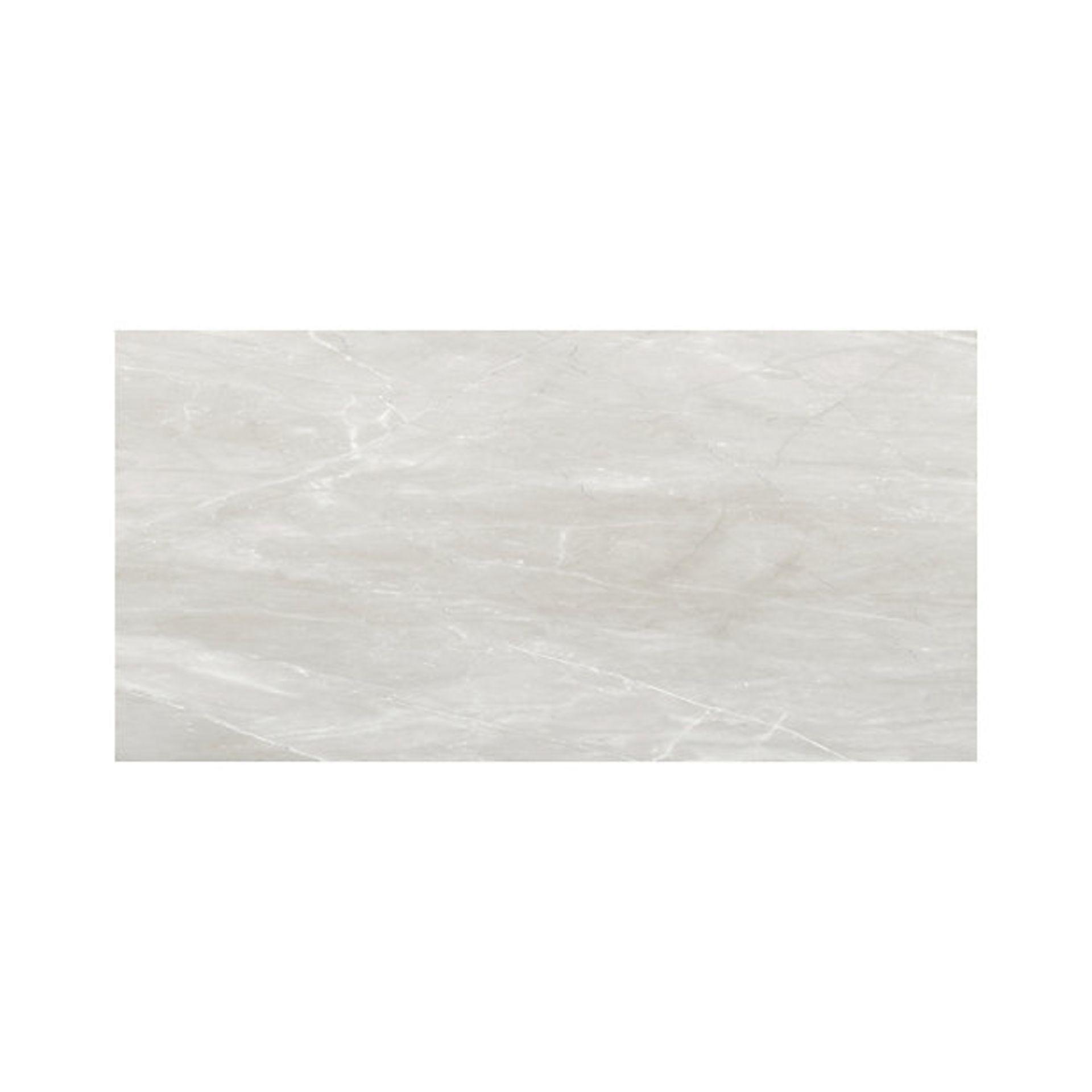 NEW 30.24m2 Killington Light Grey Matt Marble effect Ceramic Floor tile. Room use: Any room, - Image 2 of 2