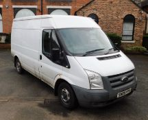 Ford Transit T280 TDCI 85ps SWB FWD Medium Roof Van, registration SN09 FPA, first registered 11 May