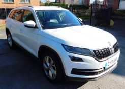 Skoda Kodiaq 2.0 TDI SCR-S 150PS 7 Seat Auto with leather seats, parking assist camera, satellite