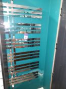 Towel radiator, 600mm x 1.5m