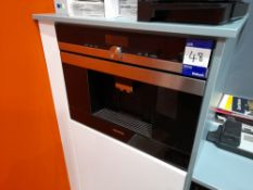 Siemens CT636LES6 built in coffee machine *Purchasers responsibility to remove