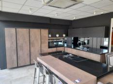 Pronorm Bronze kitchen suite, comprising Qu