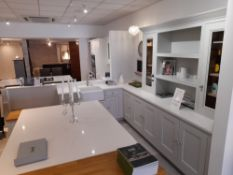 1909 Dove Grey kitchen suite (Approx 3150 x 600 +
