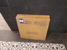 3 x Boxes of Porcelanico Rectificiado rectified floor tiles (3 pieces per box, 60cm x 60cm)