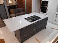 Kitchen island suite (Approx 2150 x 1100 x 890), w