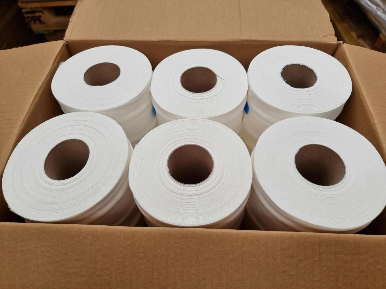 Pallets of New Centre Feed Toilet Rolls